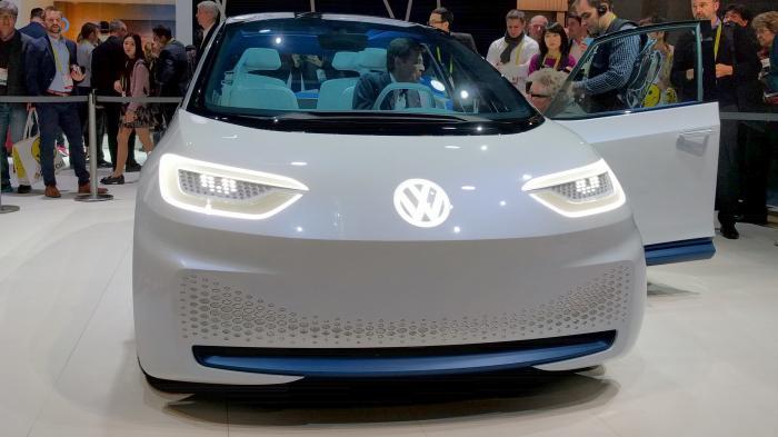 Der I.D. von Vollkswagen soll ab 2025 autonom fahren