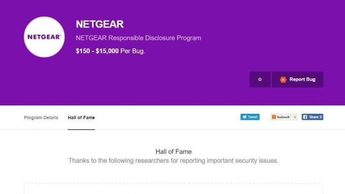 Netgear will Bug-Jägern bis zu 15.000 US-Dollar zahlen