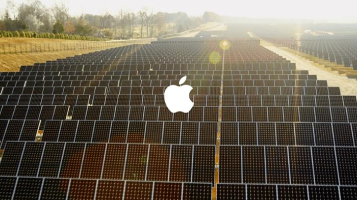 Erneuerbare Energie: Apple ganz vorne, gefolgt von Facebook