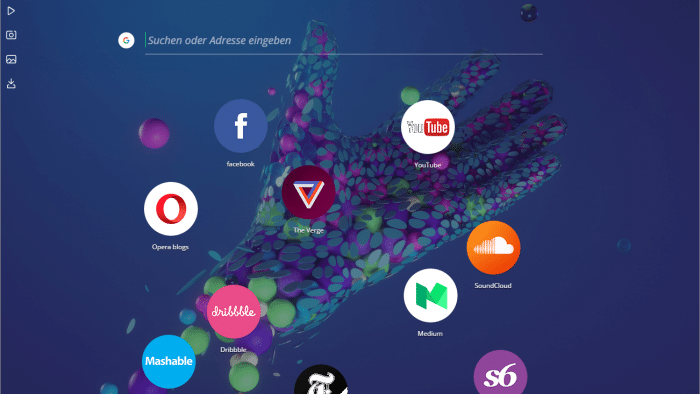 Opera Neon: Websurfen mit neuem Design
