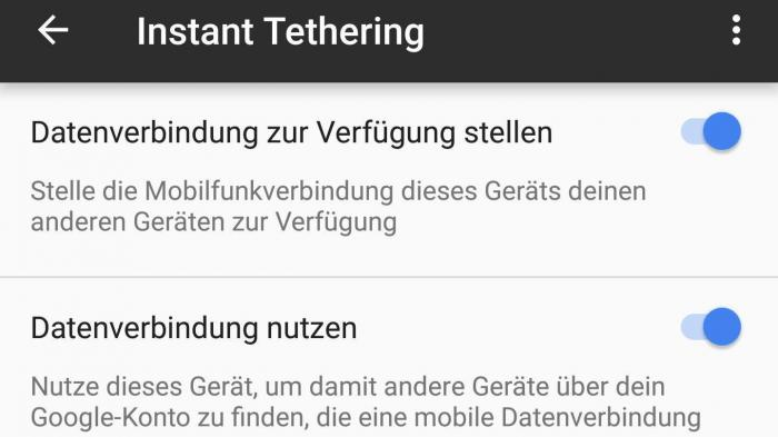 Android: Google aktualisiert Play Dienste und liefert Instant Tethering aus
