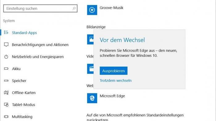 Edge: Ärger über vordrängelnden Microsoft-Browser nach Windows-10-Updates