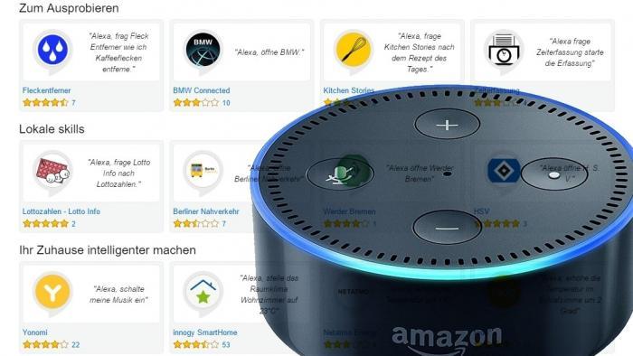 Amazon Alexa: Über 500 deutschsprachige Skills und ein neues Zuhause