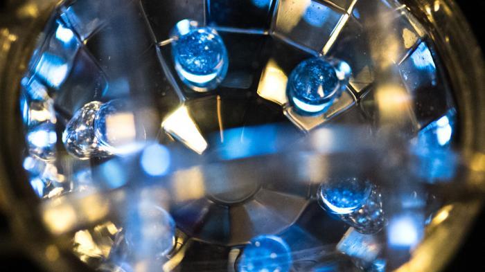 Fest eingebaute LEDs