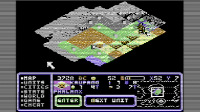 8 Bit Civilizations: Neues 4X-Strategiespiel für den C64