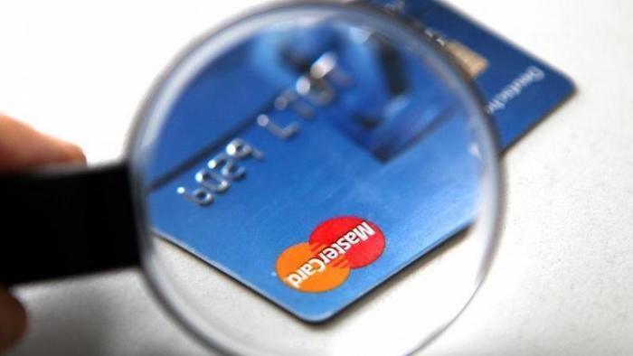 Kreditkarte von Mastercard