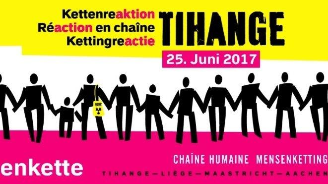 """Aufruf zum Protest: """"Kettenreaktion"""" gegen belgische Atommeiler"""