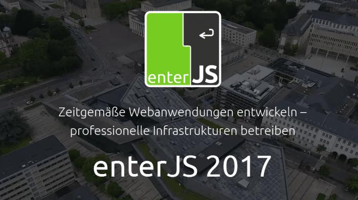 JavaScript: Programm für enterJS 2017 nun online verfügbar