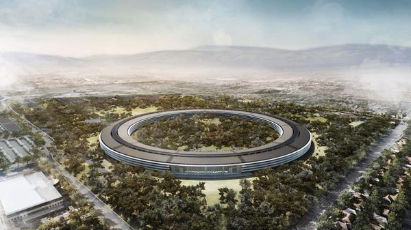 """Apple-Finanzchef: Neues Apple-""""Mutterschiff"""" als Touristenmagnet"""