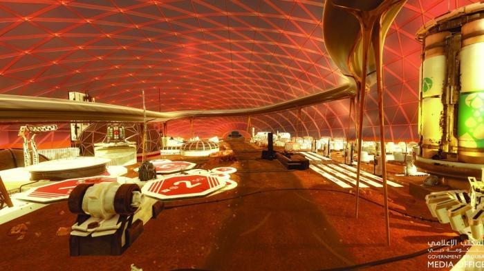 Vereinigte Arabische Emirate wollen 2017 Stadt auf dem Mars gründen