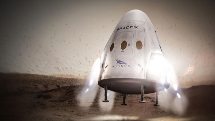SpaceX: Red Dragion startet doch nicht 2018