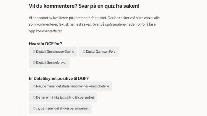 Nordwegischer Rundfunk: Mit Wissenstest zu friedlicheren Onlinekommentaren