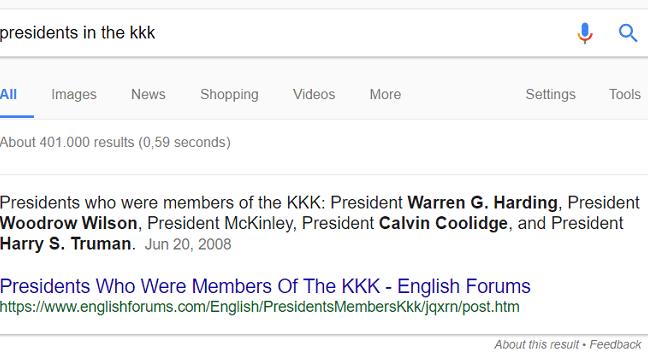 Google hat ein Fake-Facts-Problem
