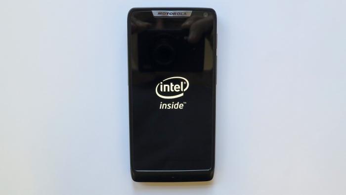 Smartphone Intel inside