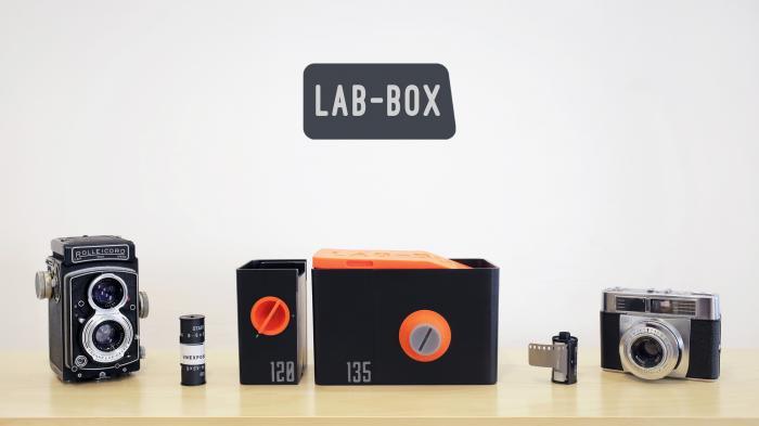 Kickstarter-Projekt: ″Lab-Box″ Tageslicht-Entwicklungstank für KB- und Rollfilm