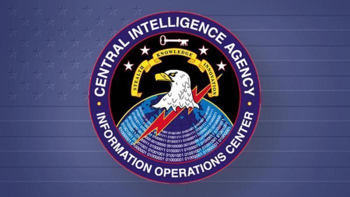 "Rundsiegel ""CIA - Informations Operations Center"""