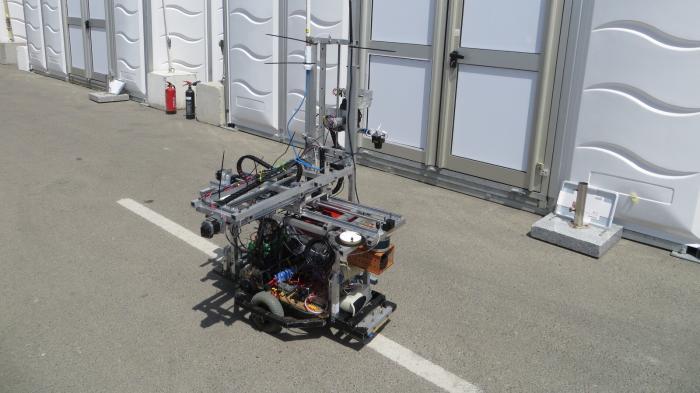 Premiere: Robotik-Wettbewerb MBZIRC startet in Abu Dhabi