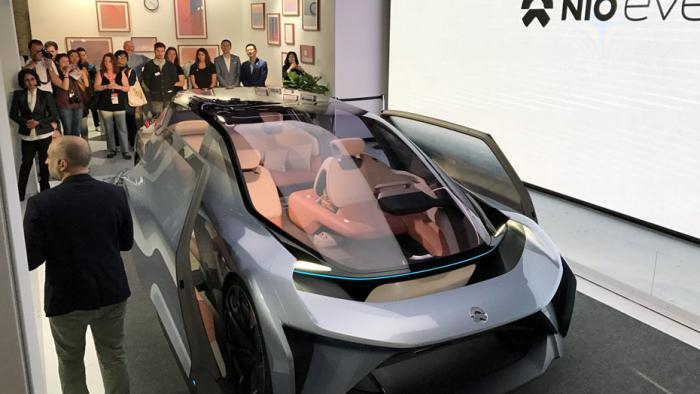 Konzeptfahrzeug Eve Nio: Näher am Wohnzimmer als an einem herkömmlichen Auto