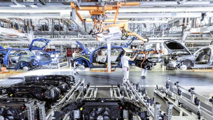 Audi-Produktion