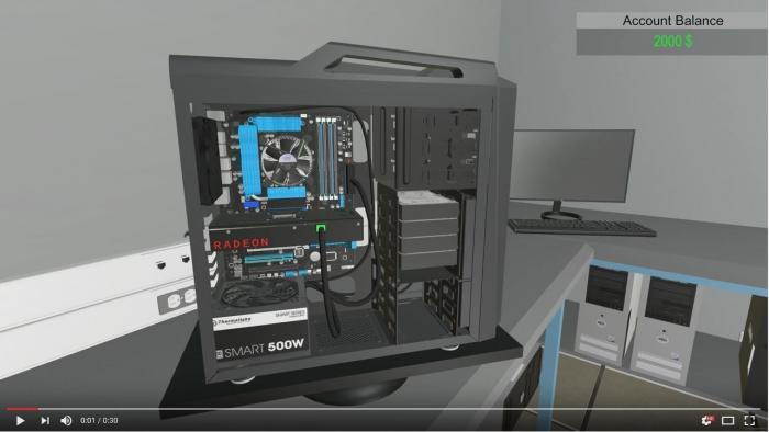 Simulator für virtuellen PC-Selbstbau