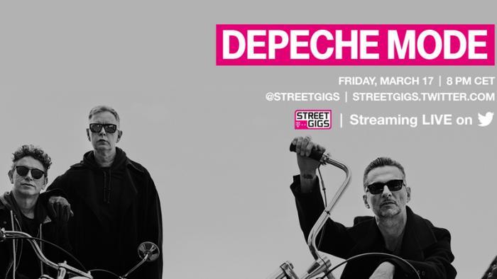 Telekom Street Gigs: Depeche Mode live in Berlin – und im Netz