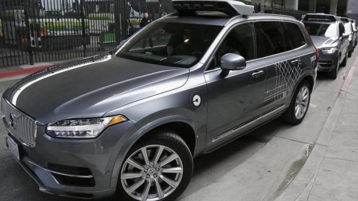 Uber - Selbstfahrendes Fahrzeug