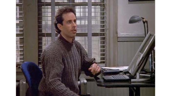"""Screenshot """"Seinfeld""""-DVD / Twitter"""