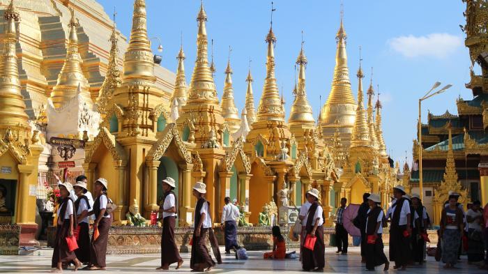 Shwedagon Ragun Myanmar