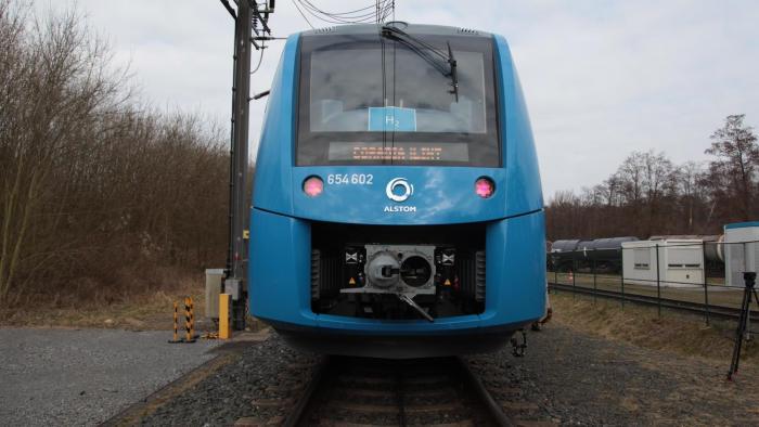 Brennstoffzellen-Zug beendet erste Testfahrt in Niedersachsen