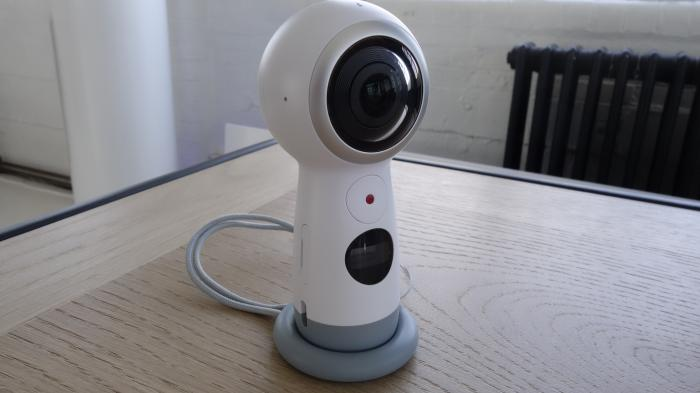 Gear 360: Neues Modell kann 4K-Videos aufnehmen