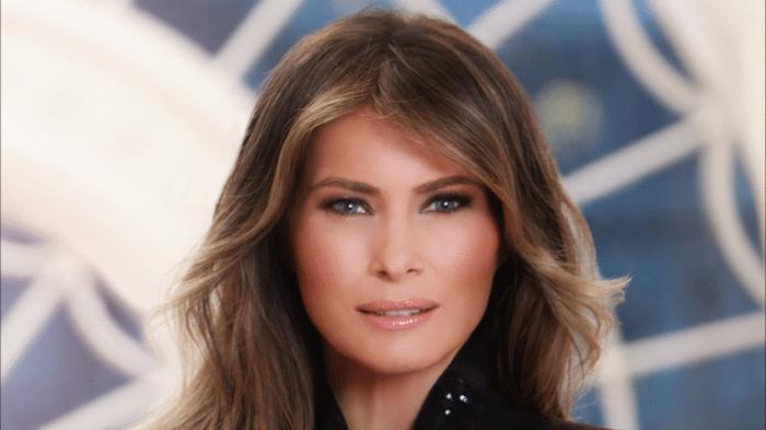 Melanie Trump: Offizielles Porträtfoto erntet Lob und Kritik