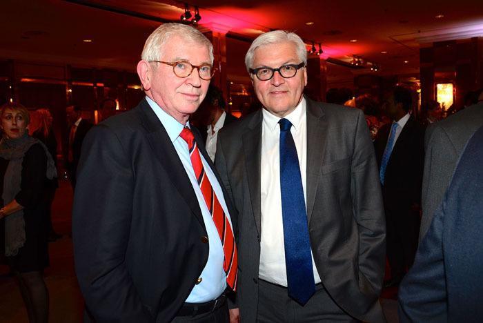 Ernst Uhrlau mit Frank-Walter Steinmeier