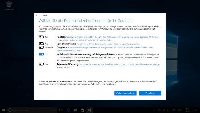 Windows 10: Creators Update jetzt auch per Windows Update