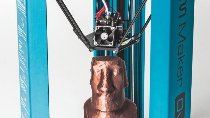 3D-Drucker Overlord Pro von DreamMaker im Make-Test