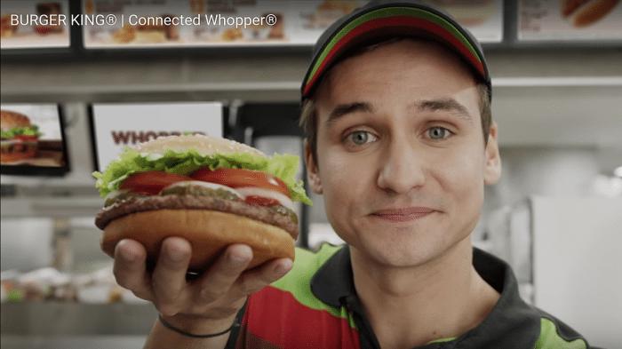 Burger King Alexa Google Assistent Amazon Ok Google