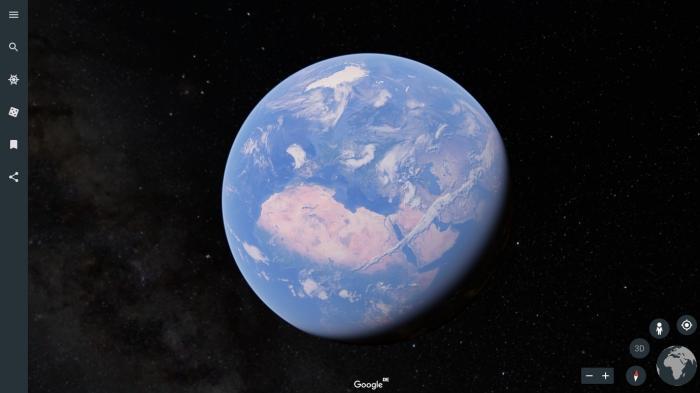 Google Earth in neuem Gewand