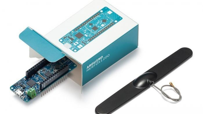 Arduino MKRFOX1200 mit ISM-Antenne