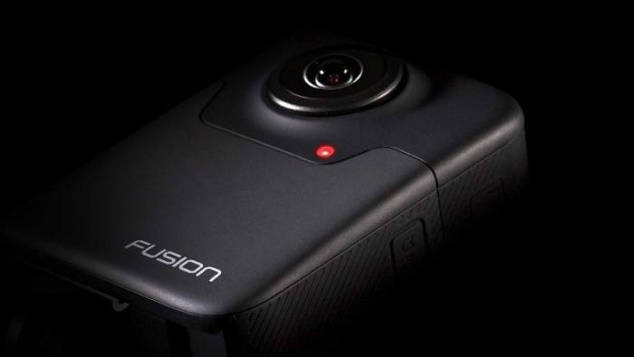 GoPro Fusion nimmt 360-Grad-Videos in 5,2K-Auflösung auf