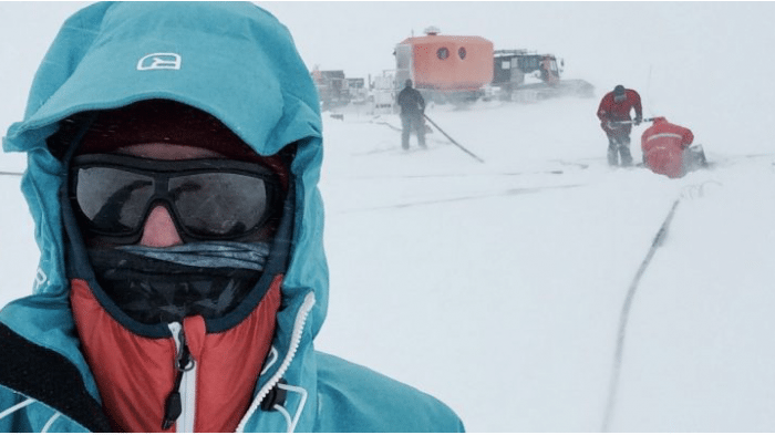 """March for Science"" sogar in der Antarktis"