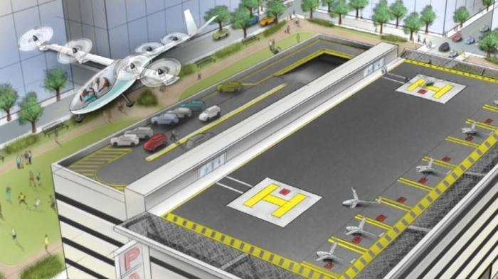 Uber stellt Pläne für fliegende Taxis vor