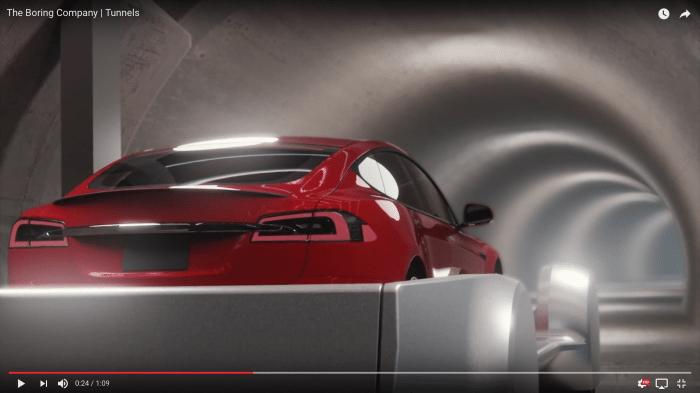 Elon Musk zeigt Konzeptvideo von automatisiertem Tunnelsystem