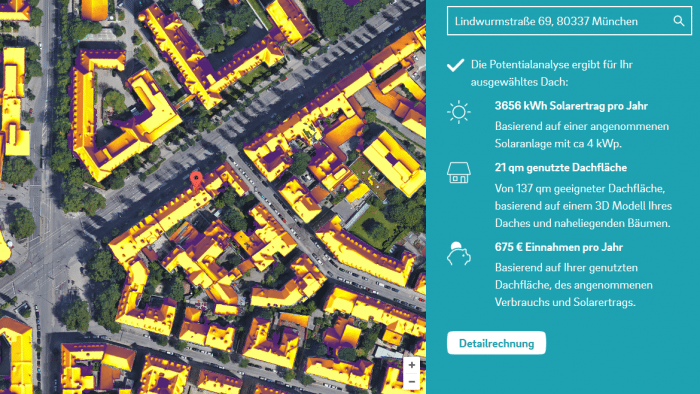 Solaranlagen München e on und helfen bei schätzung des ertrags solaranlagen