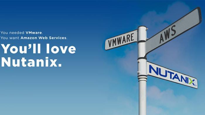 "Plakat: ""You'll love Nutanix"""