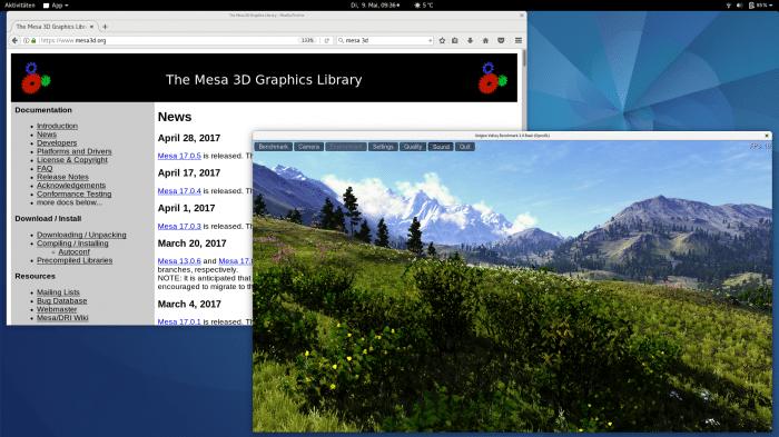 Mesa 17.1 freigegeben: Neue und schnellere Grafiktreiber für Ubuntu & Co.
