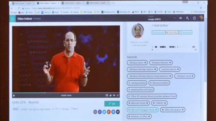 Build 2017: Automatisierte Video-Überwachung und Auswertung für Jedermann