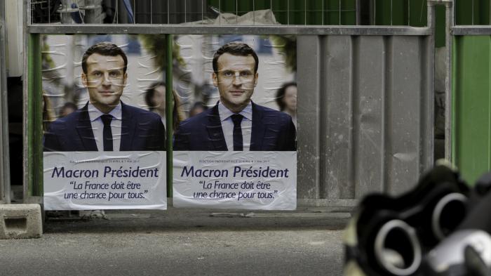 Hackerangriff: Team von Macron wehrte sich mit gefälschten Dokumenten