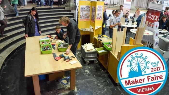 Jetzt in der Metastadt; die Maker Faire Vienna