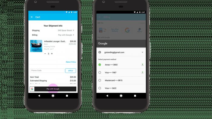 Google: Neue Bezahlmöglichkeiten für Android-Nutzer