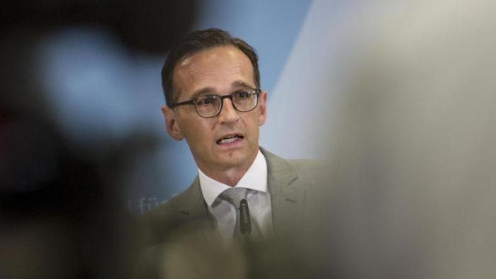 Justizminister Heiko Maas