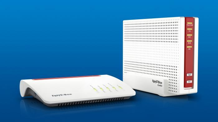 AVM: Marktstart der Fritz!Box 7590 und 6590 Cable